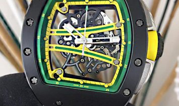 Richard Mille [2019 NEW] RM 61-01 Yohan Blake TZP Black Ceramic Watch