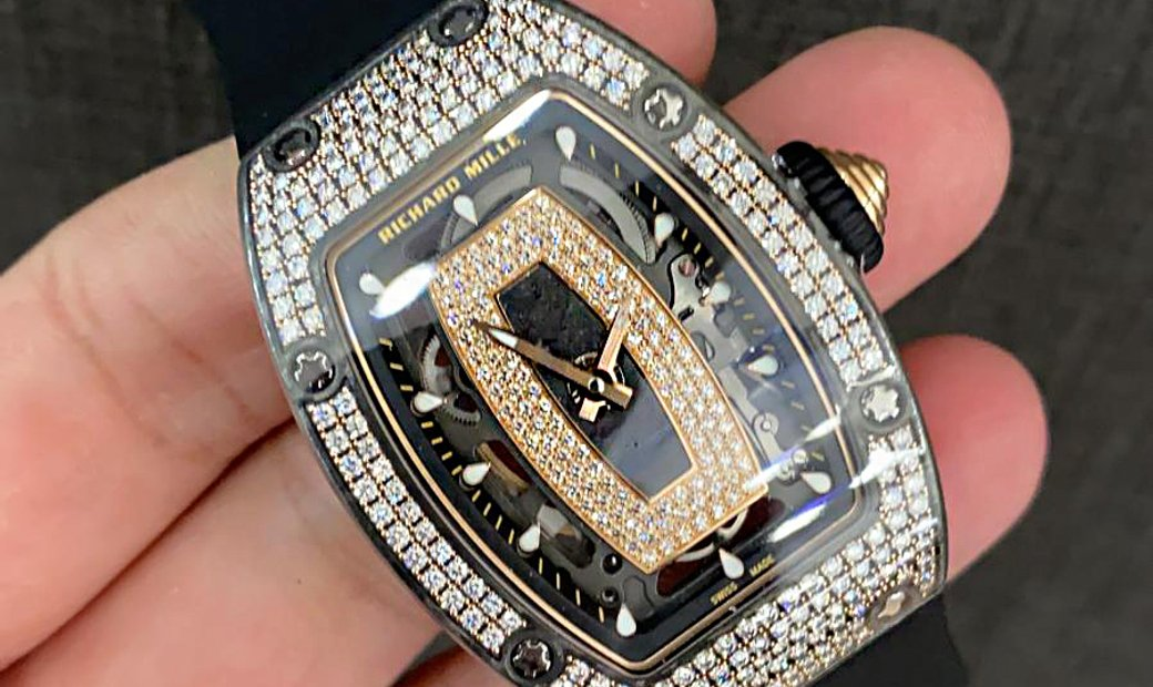 Richard Mille [NEW] RM 07-01 NTPT Rose Gold Diamonds Ladies Watch