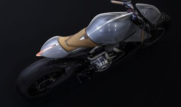 AMB001 By Aston Martin and Brough Superior Motorcycles