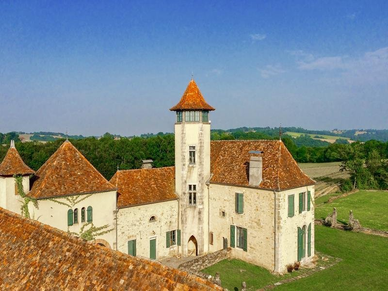 Chateau in Orthez, Nouvelle-Aquitaine, France 1