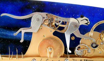LE GUÉPARD - Poetic clock by John-M.Flaux