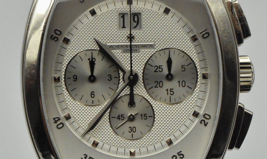Vacheron Constantin Malte Tonneau Chronograph White Gold