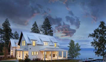 House in Somers, Montana, United States of America