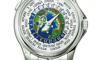 Patek Philippe [NEW] Platinum World Time Complications 5131/1P