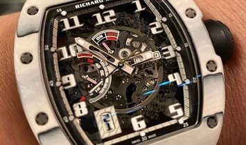 Richard Mille [LIMITED 40 PIECE] RM 030 Japan Only Edition White TPT Mens Watch
