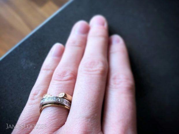 14 Princess cut Diamonds set in a 14k White Gold Band (10939711)
