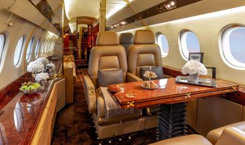 Falcon 900B with the new interior and avionic