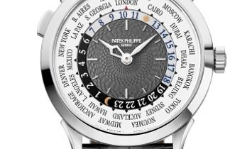 Patek Philippe [NEW] Complications World Time White Gold 5230G-014