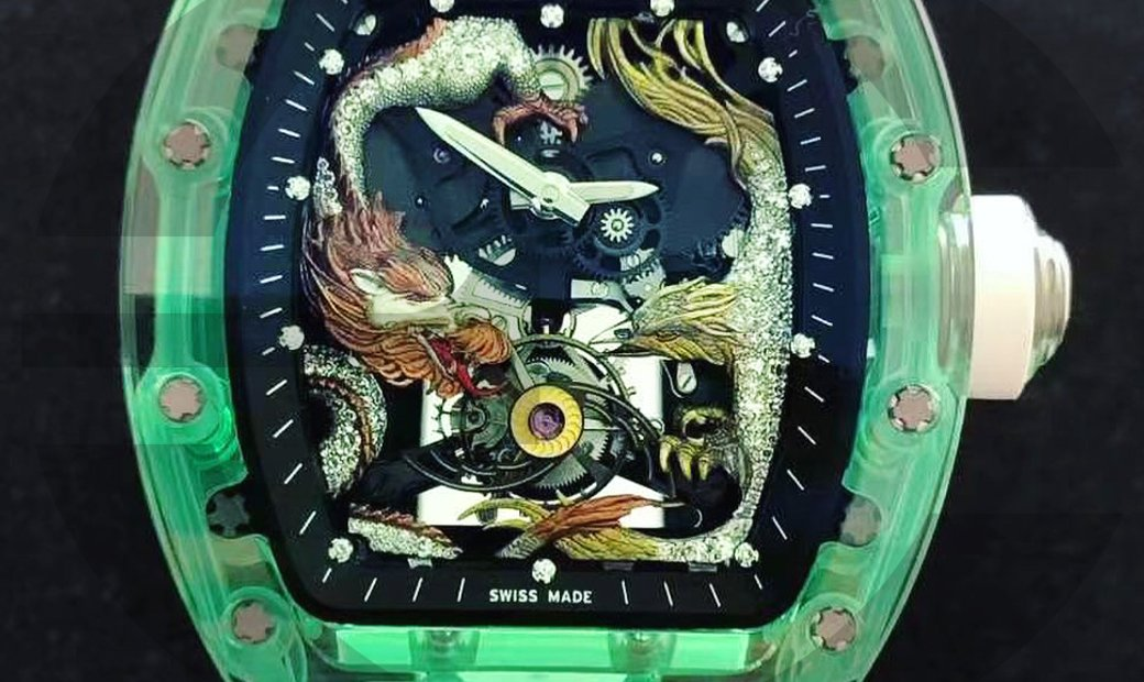 Richard Mille RM57 Sapphire - Dragon and Phoenix