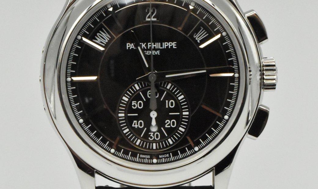 Patek Philippe Complications Annual Calendar Chronograph Platinum