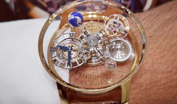 Jacob & Co. 捷克豹 [NEW] Astronomia Clarity Rose Gold Tourbillon AT120.40.AD.SD.A