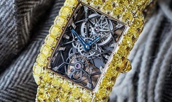Jacob & Co. 捷克豹 [NEW] Millionnaire Yellow Diamonds Yellow Gold ML510.50.YD.AA.A40BA