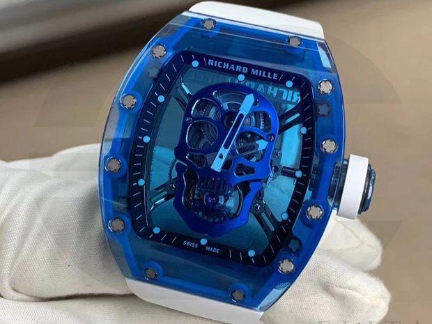 Richard Mille RM52 Blue Sapphire Skull (10946051)
