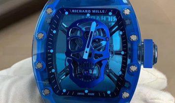 Richard Mille RM 52-04 Blue Sapphire Skull