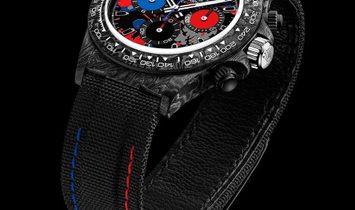 "Rolex DiW NTPT Carbon PEPSI Daytona ""MOTLEY 3S"" (Retail:US$56,990)"