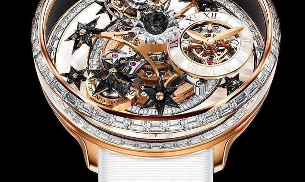 Jacob & Co. 捷克豹 [NEW] Astronomia Fleurs de Jardin Tourbillon Ladies Watch (Retail:HK$3,168,000)