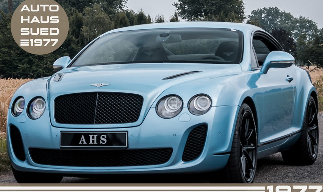 2010 Bentley Continental Supersports awd