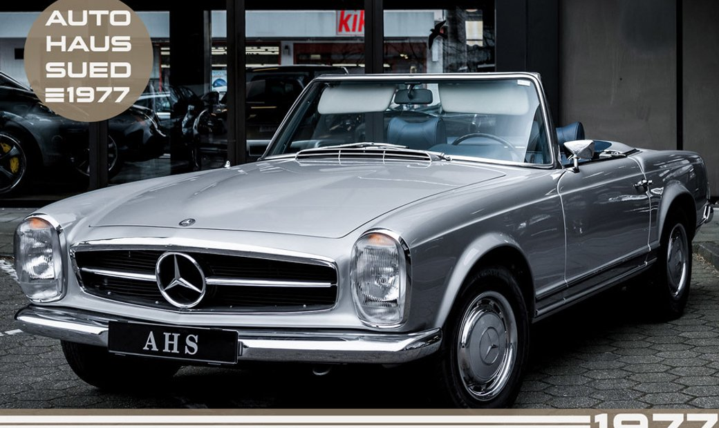 1970 Mercedes-Benz 280 SL rwd