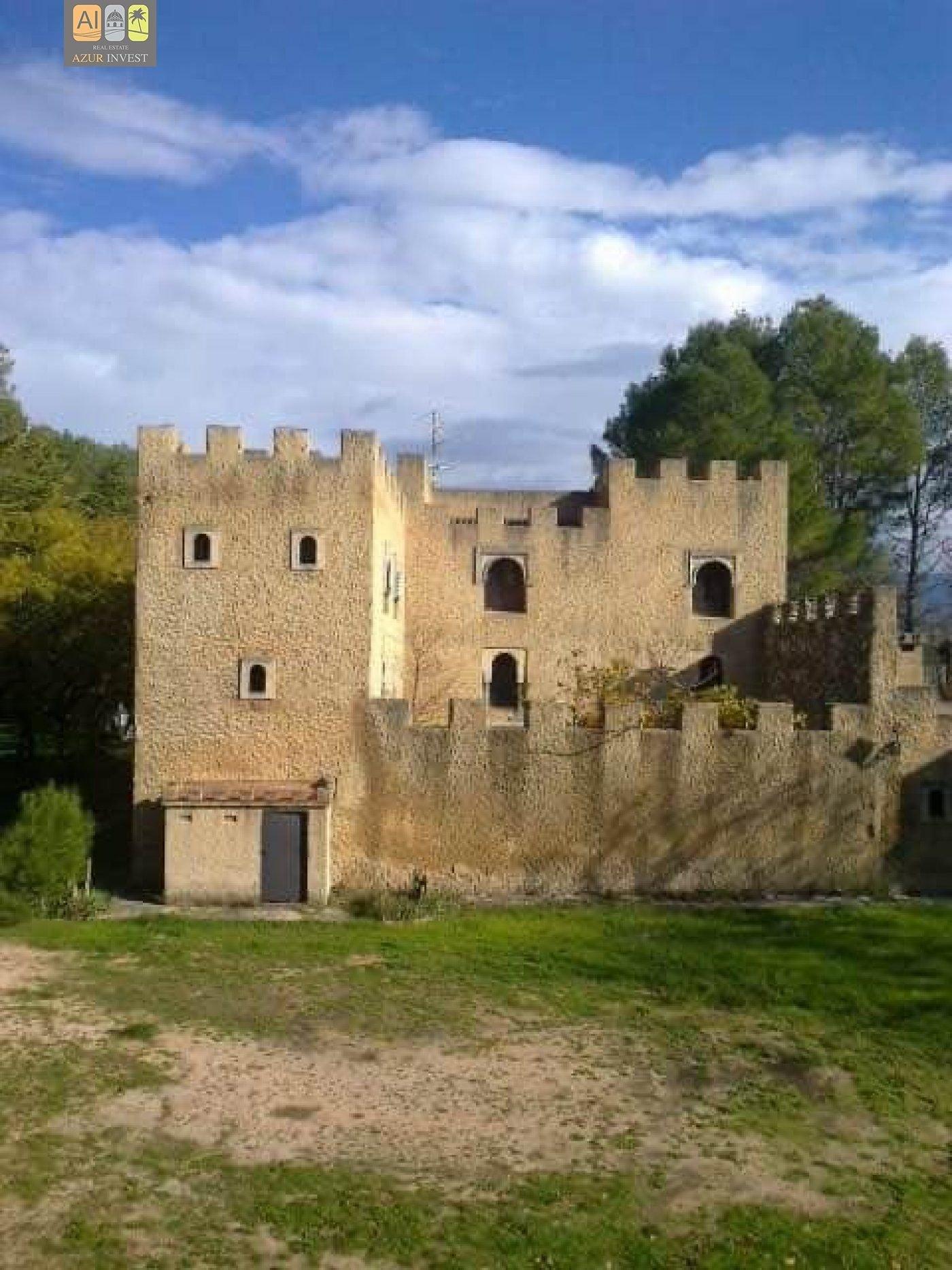 Castle in Alcoi, Valencian Community, Spain 1