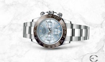 Rolex Cosmograph Daytona 116506 Platinum with Ice Blue Dial