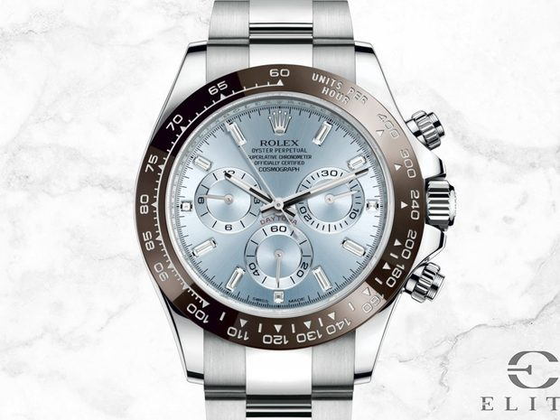 Rolex Cosmograph Daytona 116506 Platinum with Ice Blue Dial  (10770158)