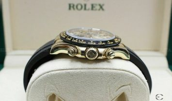 Rolex Daytona Cosmograph 116518LN Yellow Gold Champagne and Black Dial