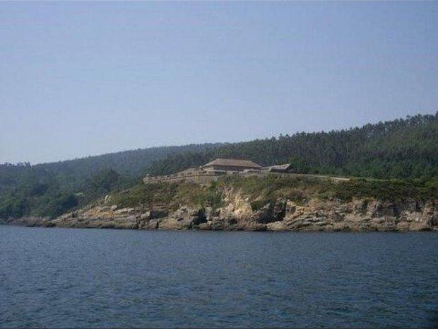 Castle in Cee, Galicia, Spain 1