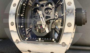 Richard Mille RM 52-01 White Carbon Skull