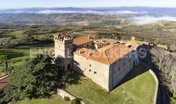 Castle in Tuscany, Italy