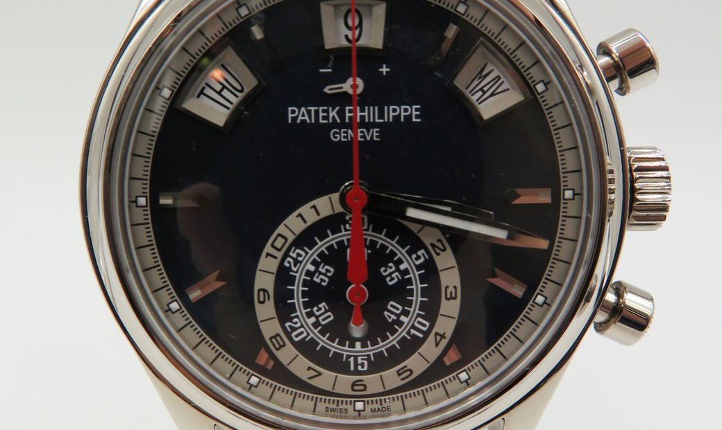 Patek Philippe Annual Calendar Chronograph White Gold