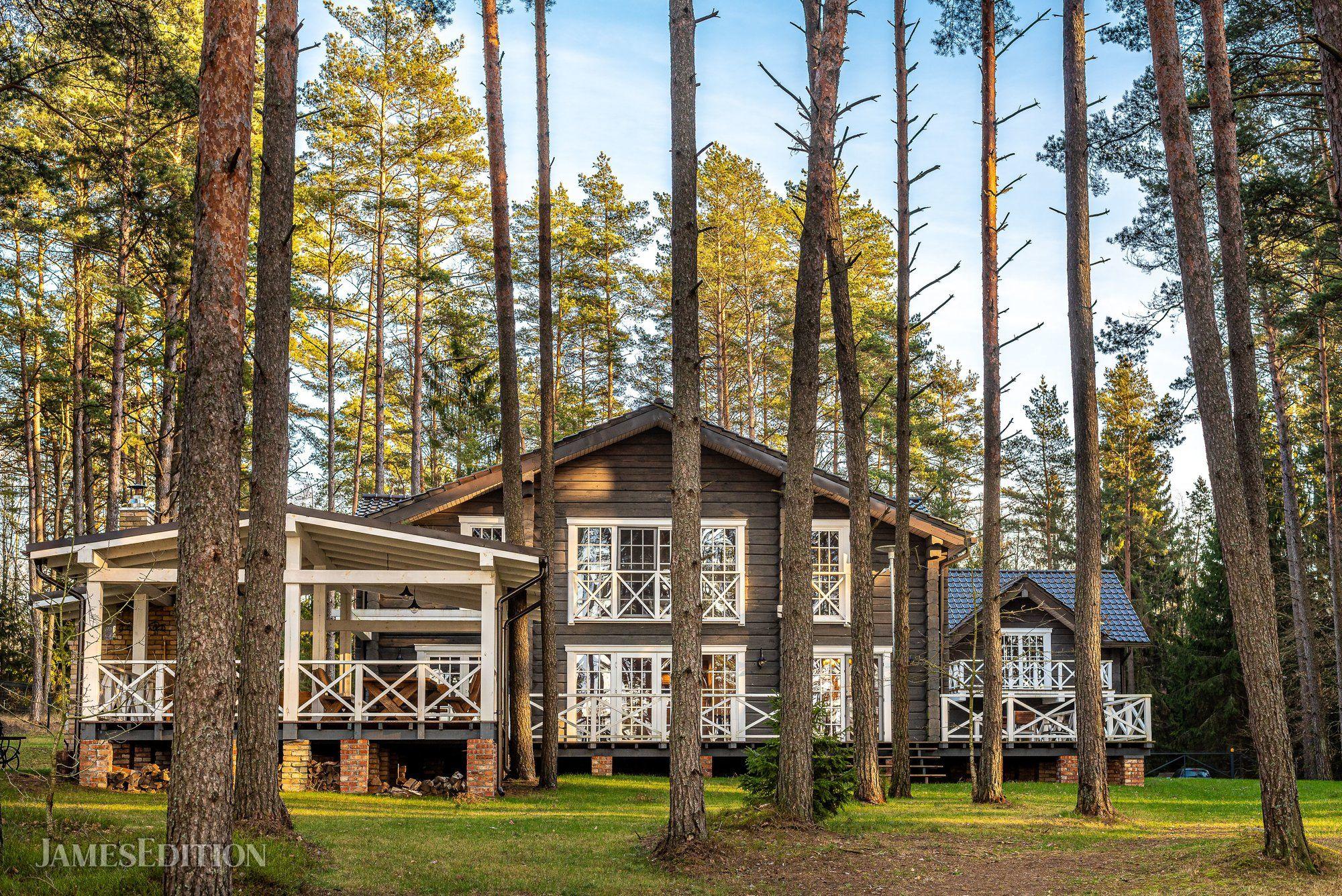 House in Skardžiai, Utena County, Lithuania 1