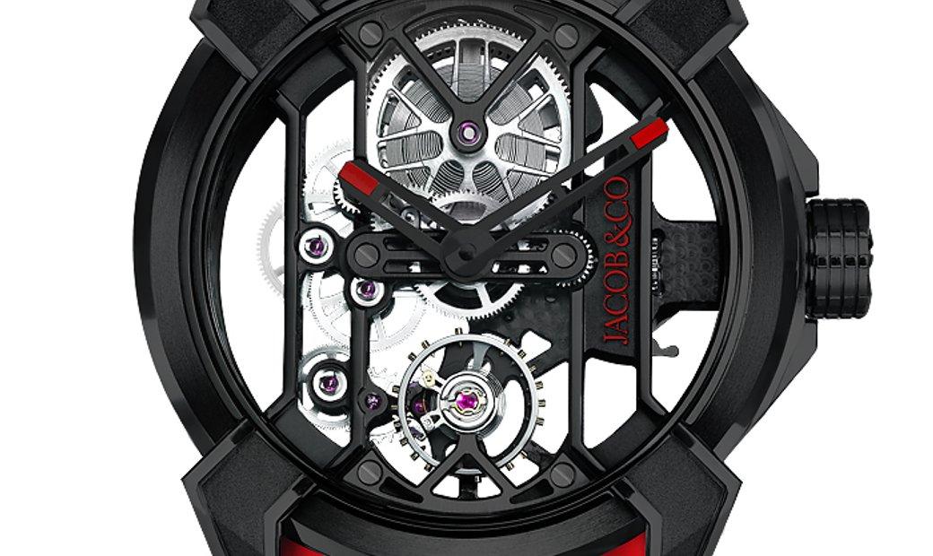 Jacob & Co. 捷克豹 [NEW] Epic X Black Titanium EX100.21.PS.OP.A (Retail:HK$200,000)