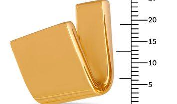 Vhernier Vhernier Tonneau 18K Rose Gold Earclips