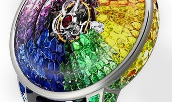 Jacob & Co. 捷克豹 [NEW MODEL] Brilliant Mystery Rainbow Tourbillon