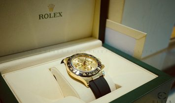 Rolex Daytona Cosmograph 116518LN-0042 18 Ct Yellow Gold and Champagne Coloured Dial