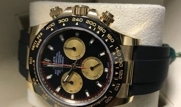 Rolex Daytona Cosmograph 116518LN-0047 18 Ct Yellow Gold Black and Champagne Coloured Dial