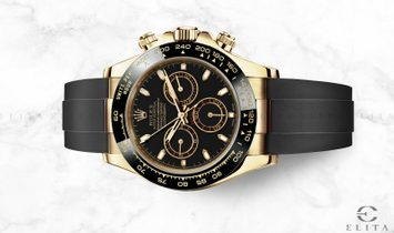 Rolex Daytona Cosmograph 116518LN-0043 18 Ct Yellow Gold Black Dial