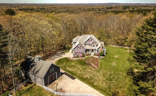 House in Grafton, Massachusetts, United States