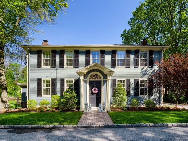 House in Barre, Massachusetts, United States 1