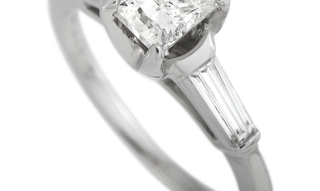 LB Exclusive LB Exclusive Platinum 1.31 ct Diamond Ring