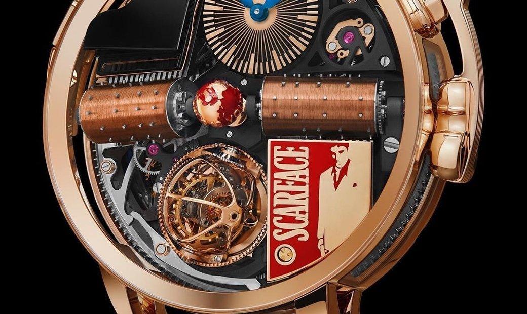 Jacob & Co. 捷克豹 [NEW MODEL] Opera Scarface Musical Watch OP110.40.AK.AA.A