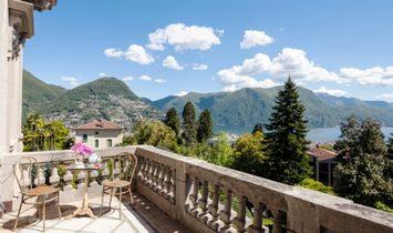 House in Massagno, Canton Ticino, Switzerland