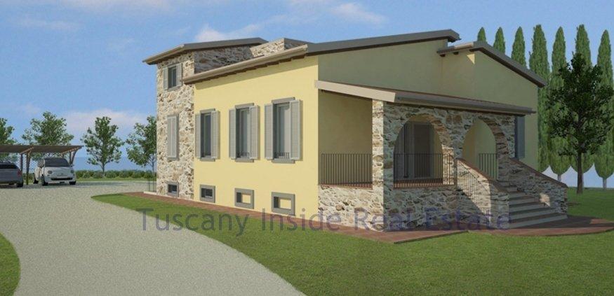 Country House in San Gimignano, Tuscany, Italy 1 - 10980213