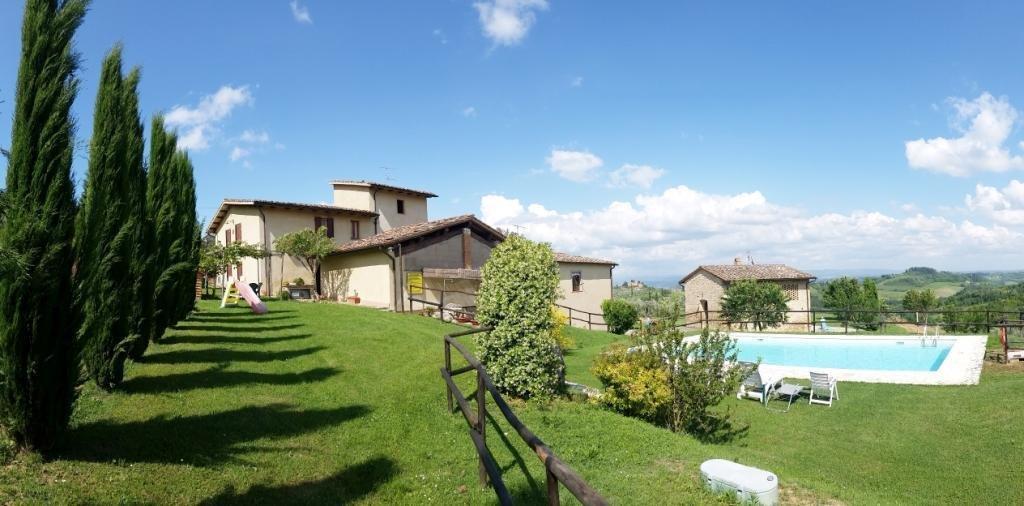 Country House in San Gimignano, Tuscany, Italy 1 - 10980233