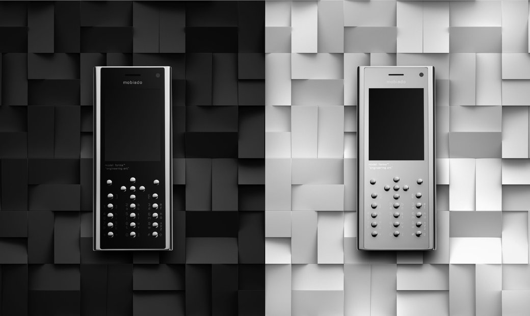 MOBIADO FORMA - ENGINEERING ART, EXCEPTIONAL FINISH, A LIVING BLUEPRINT LUXURY FEATURE PHONE (2020)