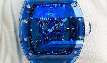 Richard Mille [NEW] RM 52-04 Blue Sapphire Skull Tourbillon