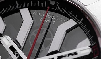 JACOB & CO. 捷克豹 [NEW] EPIC-X CHRONO LUIS FIGO EC311.20.SD.BF.A