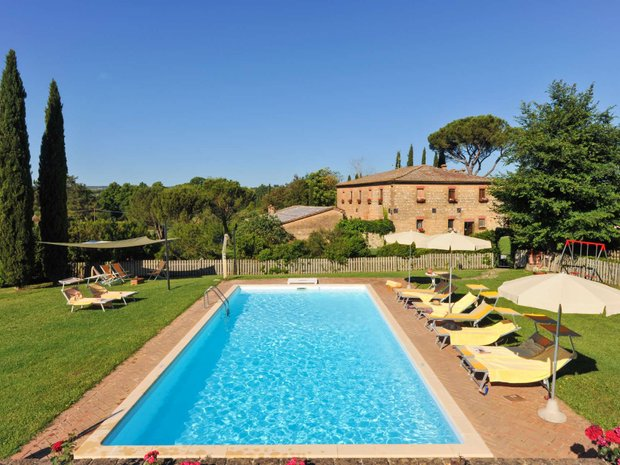 Country House in Siena, Tuscany, Italy 1