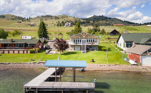 House in Elmo, Montana, United States
