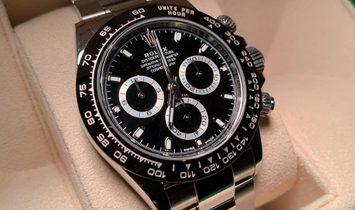Rolex Daytona Cosmograph 116500LN-0002 Oystersteel Black Dial